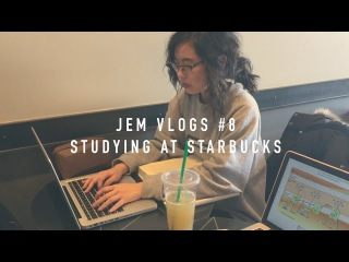 Jem Vlogs #8 - Studying at Starbucks!