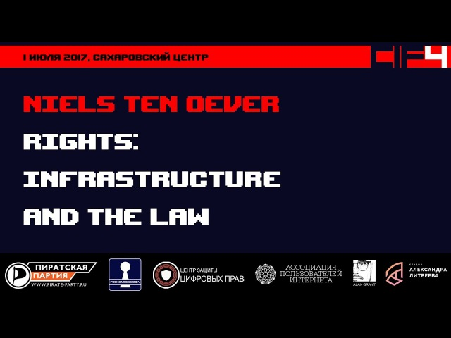 CIF IV — Niels ten Oever: «Rights: Infrastructure and the Law»