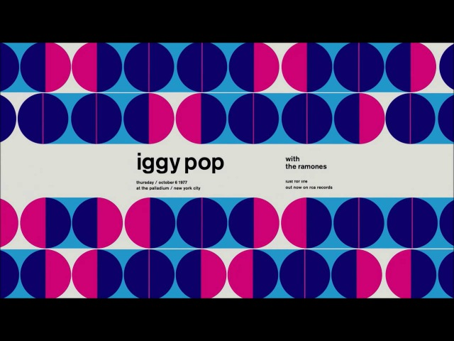 Motion Graphics - S-W-I-S-S-T-E-D Retro Rock Posters Animated