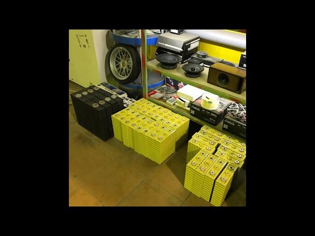 Тест литиевого акб емкостью 100а/ч от D Style Audio