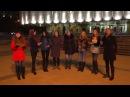 Девушки ОБАЛДЕННО ПОЮТ хором! Завораживает! - песенный флешмоб