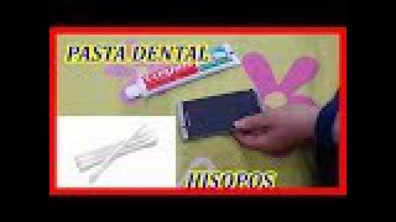 Qué sucede si echas pasta dental en pantalla de tu celular
