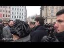 Pfiffe Buhrufe Plakate - Dresden will keine Busse-OB Hilbert weiht trotzdem ein
