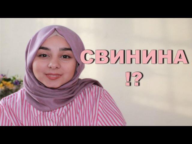 Свинина-почему мусульмане её не едят