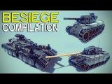 ►Besiege Compilation (W28) - Badass Tanks