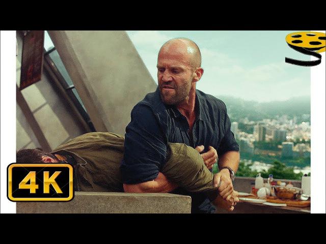 Артур Бишоп против Наёмников Курьера | Механик: Воскрешение (2016) HD