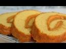 РУЛЕТ С ВАРЁНОЙ СГУЩЁНКОЙ! Сочный простой рецепт. Roll. Juicy roll with boiled condensed milk.
