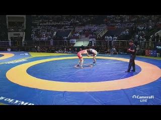 Кубок Ахмата Кадырова: До 61 кг. Ислам Дудаев (Россия) - Бекхан Гойгереев (Ахмат)