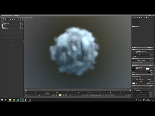 Flipbook Shader for Marmoset Toolbag 3