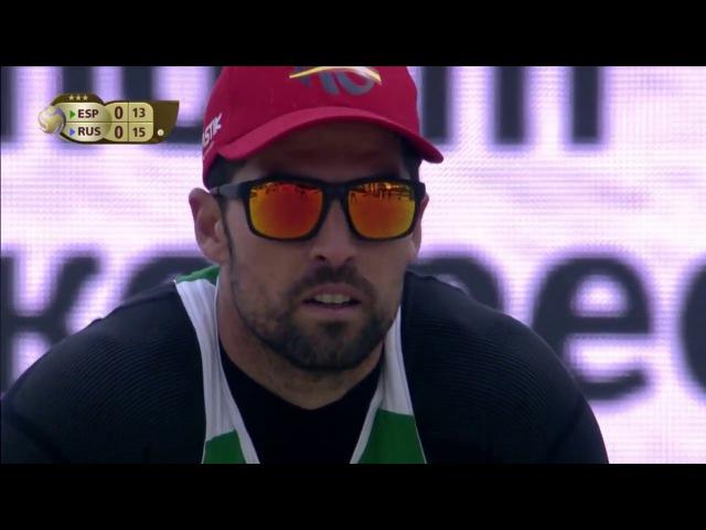 Herrera/Gavira vs Stoyanovskiy/Yarzutkin (Quarterfinals) MOSCOW WT3 2017