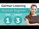 German Listening Practice - Calling the German Doctor's Office