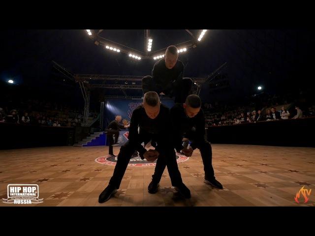CRAZY LEGS | VARSITY CREW SEMIFINAL | HIP HOP INTERNATIONAL RUSSIA 10th ANNIVERSARY