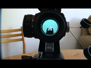 How to zero a red dot sight