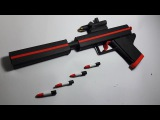 DIY How To Make a Paper ''Silent Scream''Gun That Shoots Paper Bullets-Toy Weapons-By Dr.Origami