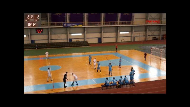 Футзал Вища ліга АРМФС КомпСервис СумДУ 2 Sagacitas HighSportLive HSL