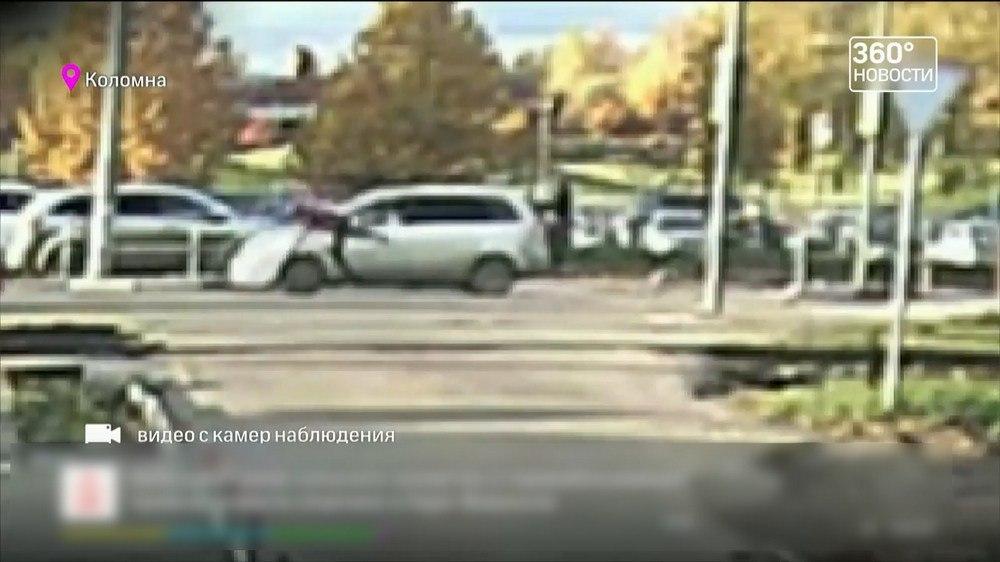 Видео: Участкового, сбившего 11‐летнюю девочку в Коломне, отпустили