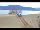 Покатушки по песчаным дюнам с видом на Жигулевские горы на Chevrolet Niva