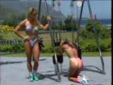 Kiana Tom Body Shaping Thongs Ass Tight Citrus Bikini With Cory Everson 720p - YouTube