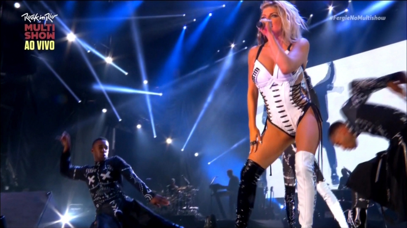 Fergie Featuring Nicky Minaj - You Already Know (Live Rock In Rio 2017)
