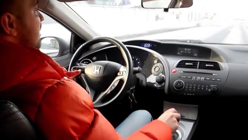 Honda Civic 2009. 4D vs 5D. Что выбрать Двойной тест. Хонда Сивик _ Цивик. Drive