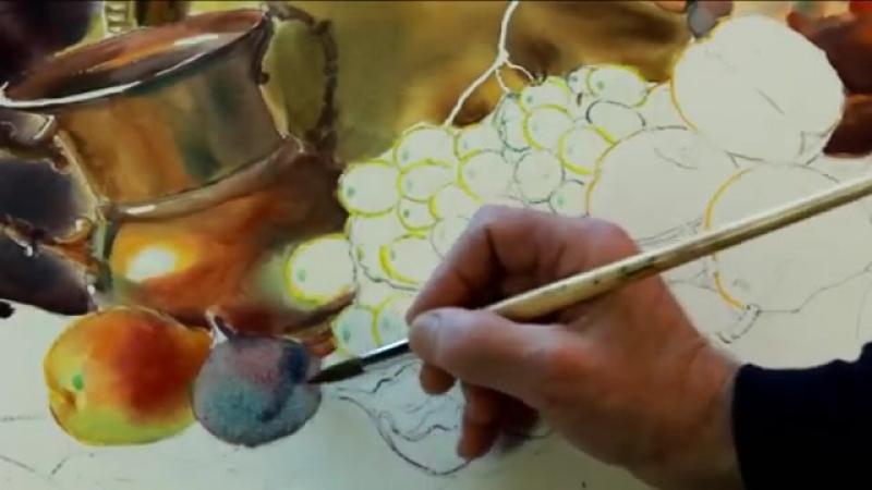 Натюрморт а кувшином Мастер-класс Игоря Манухова. Still Life with Jug Workshop I.Manukhov