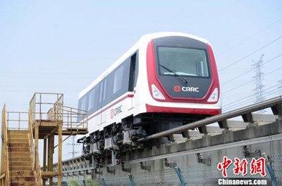 В Китае завершились испытания поезда нового поколения на магнитной под