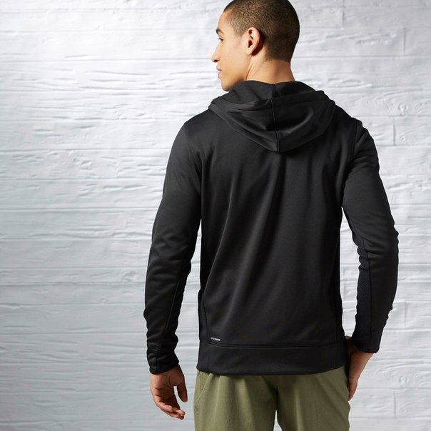 Худи Workout Ready Warm Poly Fleece Full Zip