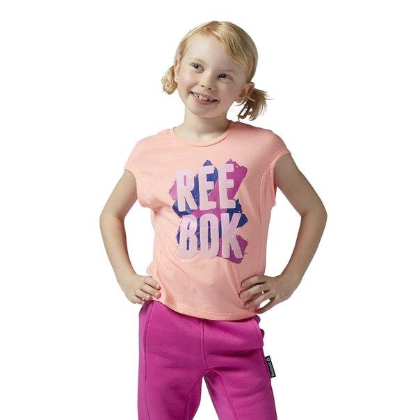 Спортивная футболка Reebok Girls Squad