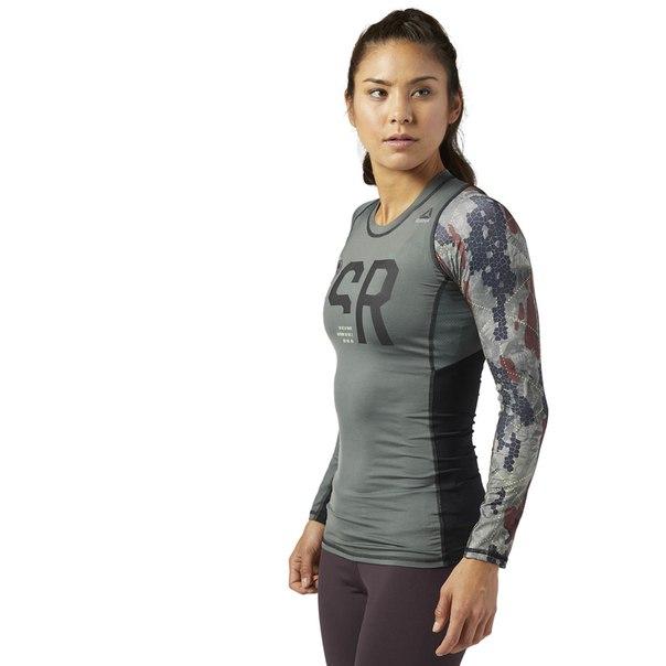 Компрессионная футболка с длинным рукавом Reebok Spartan Race