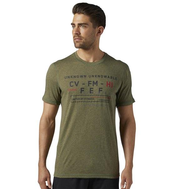 Спортивная футболка Reebok CrossFit Poly Blend
