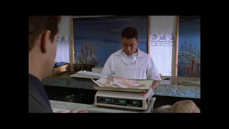Крис покупает рыбку - Клан Сопрано
