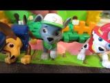 Щенячий патруль Детская площадка Щенки в песочнице Воздушный шар Развивающие мультики для детей