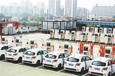 В Пекине появилась первая «воздушная заправка» для электромобилейВ би