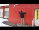 Попади снежком в мишень :))