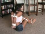 Babysitter tied