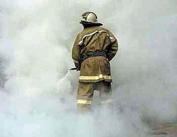 В Мурманске сгорел автомобиль Infiniti