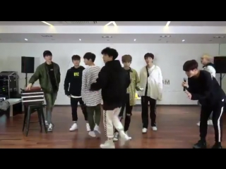 IN2IT dancing to