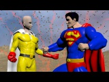 One Punch man Vs Superman FIGHT FACTOR
