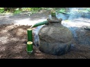 Primitive Technology Traditional Wine Making from Banana