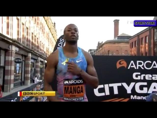 Orlando Ortega Wins 110M HURDLES Great City Games Manchester