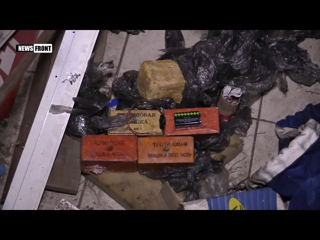 Задержанные в ЛНР диверсанты показали схроны, где прятали оружие для терактов