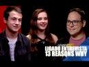 Ligado Entrevista: Dylan Minnette e Katherine Langford de 13 Reasons Why