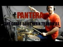 PANTERA - The Great Southern Trendkill - drum cover