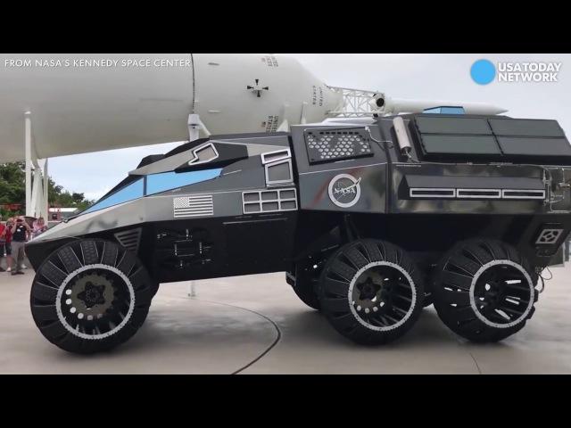 First look at NASA's futuristic Mars rover vehicle