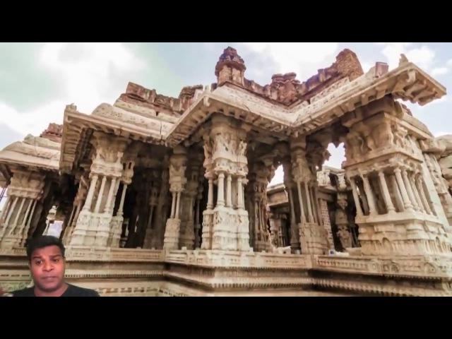 Хампи. Храм Виттала. Технология плавки камня и киматика звука.