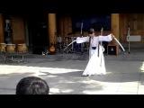 martial art - Sword dance team in korea
