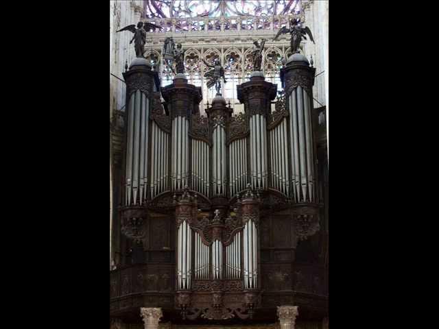 Henri Dallier 5e Evocation for organ Electa ut Sol Gerard Brooks