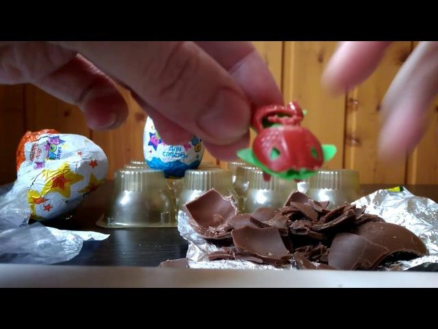 Дешевый киндер, волшебное яйцо для сластен, ужасные китайские игрушки