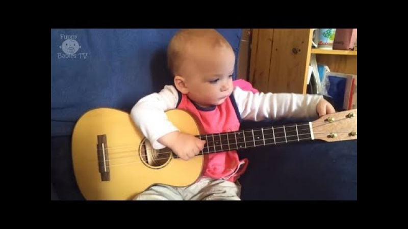 Cute Babies Play The Guitar Compilation