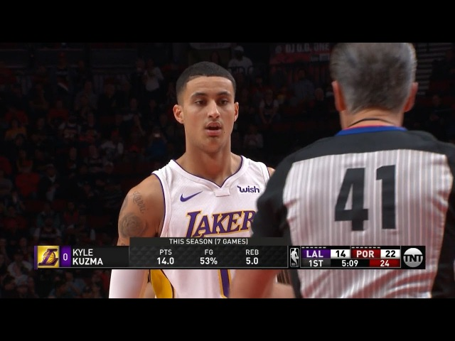 LA Lakers vs Portland Trail Blazers - 1st Qtr Highlights | November 2, 2017 | 2017-18 NBA Season